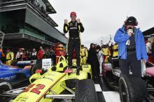 Simon Pagenaud snaps winless drought at IndyCar GP