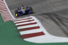 Rossi soars to P1 in final IndyCar COTA practice
