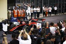 Russell claims F2 title with feature race victory in Abu Dhabi