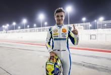 Norris beats Russell to maiden F2 pole in Bahrain