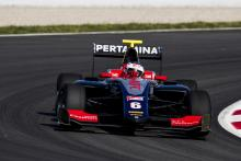 Alesi holds firm for GP3 victory in Barcelona