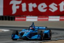 Felix Rosenqvist seals top rookie honours after top drive at Laguna