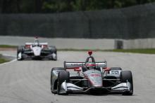 Power and Newgarden baffled by Rossi's Road America performance