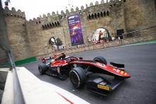 Russell storms to redemptive F2 sprint race win in Baku
