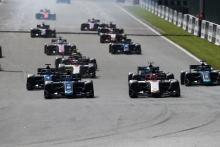 F2 Belgium - Sprint Race Results