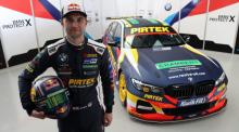 Jordan helps reveal BMW Pirtek BTCC livery