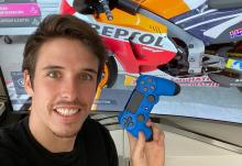Alex Marquez wins first MotoGP Virtual Race