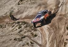 Carlos Sainz, Peugeot, Dakar