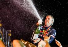 Sainz hints at retirement after 2018 Dakar triumph