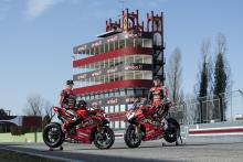 Aruba.it Racing Ducati reveals 2020 colours with Redding, Davies