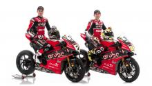 Davies, Bautista reveal Aruba.it Racing Ducati V4 R colours
