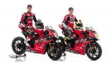 Davies, Bautista reveal Aruba.it Racing Ducati V4 R colours