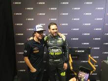 Fernando Alonso, Jimmie Johnson,
