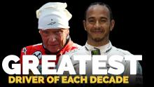 Video: The greatest F1 driver of each decade