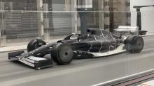Latest F1 car vision for 2021 revealed in wind tunnel