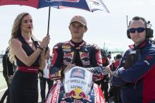 Gagne to fly Red Bull Honda flag alone at Assen