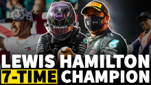 How Lewis Hamilton equalled F1's greatest-ever record