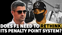 Does F1 need to rethink its penalty points system after Lewis Hamilton U-turn?