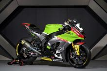 McGuinness unveils Quattro Plant Kawasaki colours
