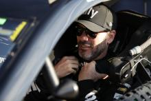Jimmie Johnson's chances for playoff berth end in crash at Indy