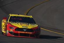 Joey Logano sees off Jimmie Johnson for Texas Stage 1 win