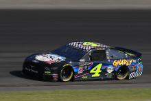 Kevin Harvick bests Joey Logano for Pocono pole
