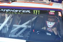 Denny Hamlin pips Kyle Larson to snap pole drought at Bristol