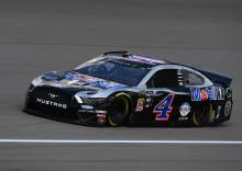 Kevin Harvick stretches fuel to take Michigan victory
