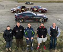 Billy Monger to headline stunt show with Mission Motorsport