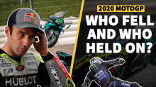 MotoGP crash stats 2020: Who fell and who held on?