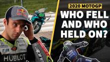 MotoGP crash stats 2020: Who fell and who held on?