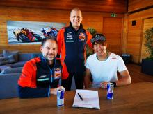 Moto2: Nagashima joins Martin at KTM Ajo