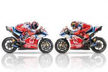 Petrucci, Miller help reveal Pramac Ducati 2018 colours