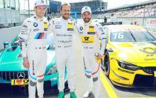 Paffett puts Mercedes on pole for DTM opener