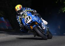 Suter returns to Isle of Man TT with MMX500, Lougher