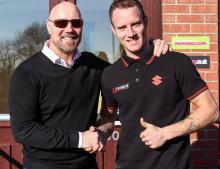 Bridewell returns to Halsall Suzuki