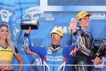 Elias stays in MotoAmerica with Team Hammer Suzuki switch