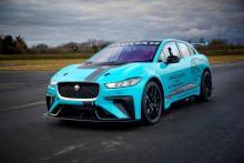 Jaguar I-PACE racer to make public debut in Berlin
