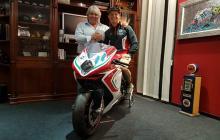 Dominique Aegerter, MV Agusta Forward Racing,