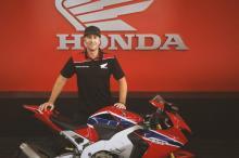 David Johnson, Honda Racing, Isle of Man TT,