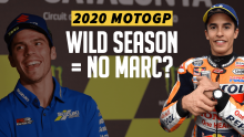 Is Marc Marquez's absence the reason for MotoGP's wild year?