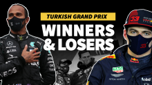 Six spins for Bottas, seven titles for Hamilton - F1 Turkish GP Winners & Losers