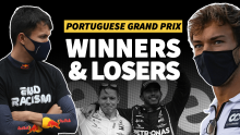 Gasly trumps as Albon slumps to new low: F1 Portuguese GP Winners and Losers