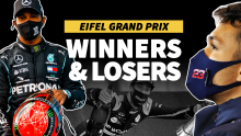 Hamilton matches Schumi, Ricciardo does a Shoey: F1 Eifel GP Winners and Losers