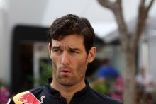 Webber: I may have missed my chance