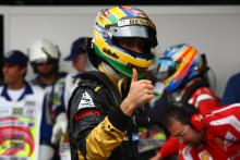 26.11.2011- Qualifying, Bruno Senna (BRA), Lotus Renault GP R31