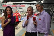 Powell, Sky and F1 teams get set for Celebrity Kart race