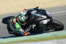 David Salom, Jerez WSBK test, November 2013
