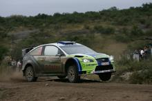 Rally Argentina: SS20.