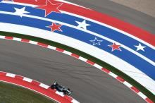 United States Grand Prix - F1 starting grid